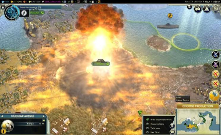 most destructive games civilsation