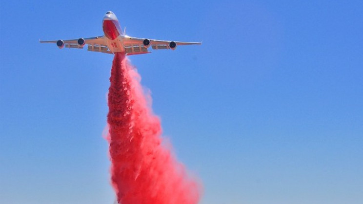 Why The World's Largest Firefighting Plane Is Not Fighting Fires Today