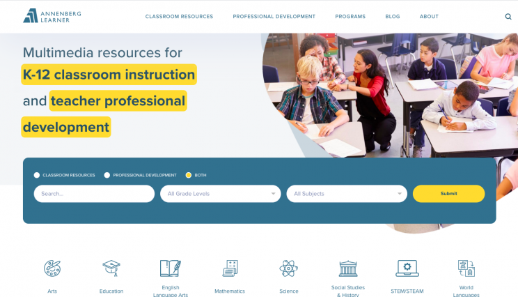 interactive science websites annenberglearnerinteractives