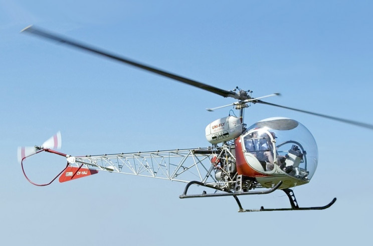 interesting helicopters bell 47