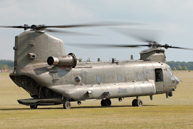 interesting helicopters chinook