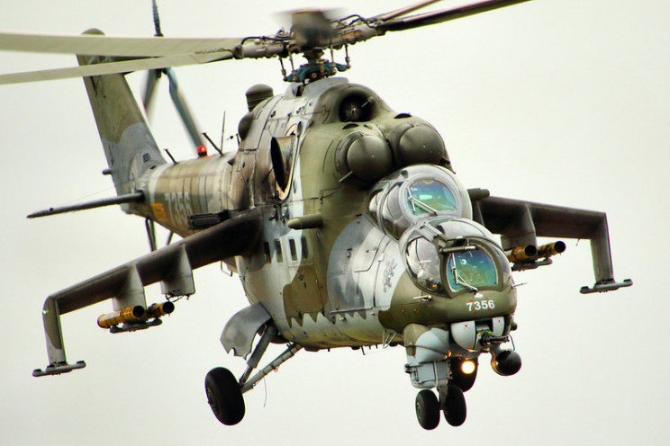 interesting helicopters hind