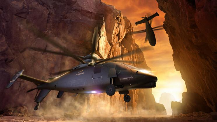 interesting helicopter Raider