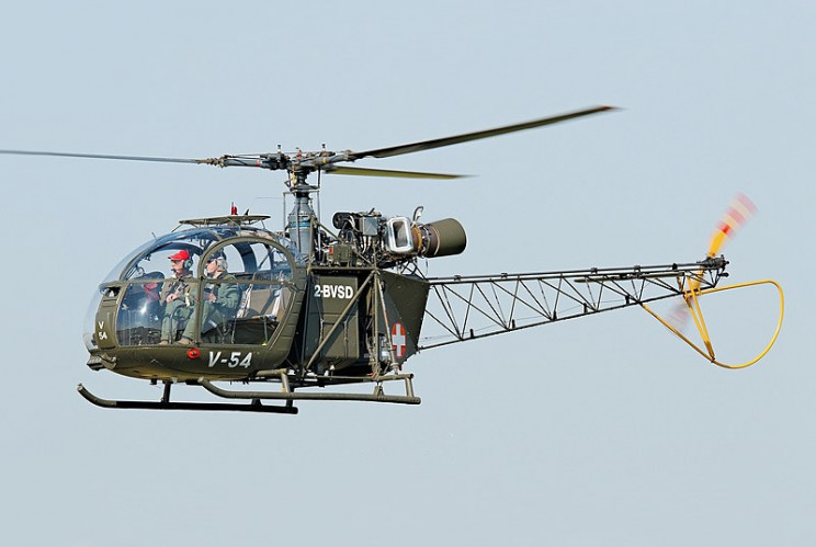 interesting helicopters SA-313