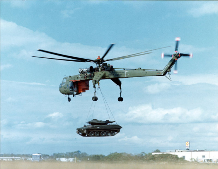 interesting helicopters skycrane