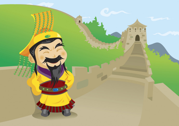 first emperor of china and the Great Wall