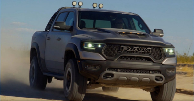 New Ram 1500 TRX Truck Goes from 0 to 60 MPH in 4.5 Seconds