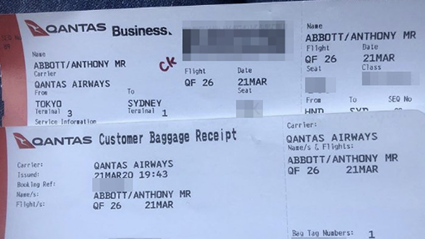 Image of article 'Former Australian PM Hacked after Sharing Boarding Pass on Social Media'