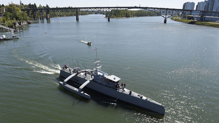 US Navy's Robo-Ships Could Take on Submarine Warfare