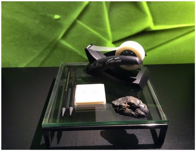 Graphene, Nobel Museum, photo by Susan Fourtané