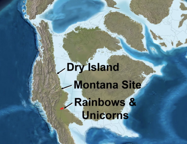 Three T-Rex mass graves
