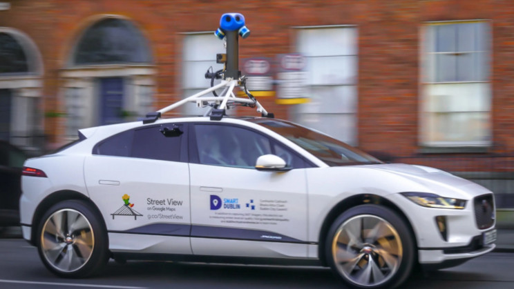 Google Launches Jaguar I-PACE: the First Electric Street View Car