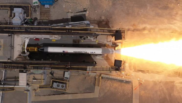 Northrop Grumman Successfully Tests Its New Solid Rocket Motor