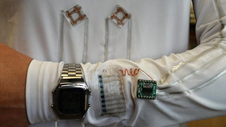 Wearable System Harvests Energy From Sweat and Motion to Power Electronics