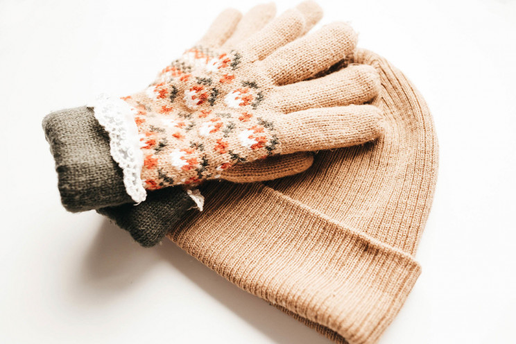 Hand-knitted Hats and Gloves