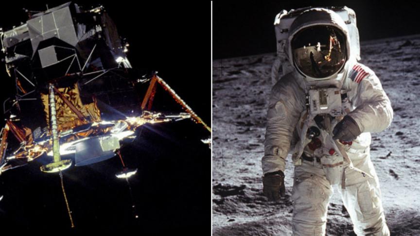 Apollo 11 Lunar Module EAGLE PHOTO Moon Mission,Neil Armstrong Moon Landing