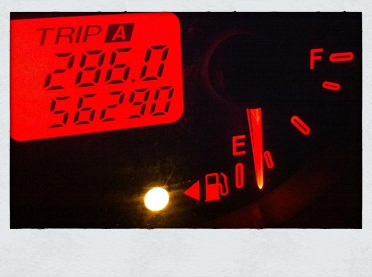 apollo 11 empty fuel