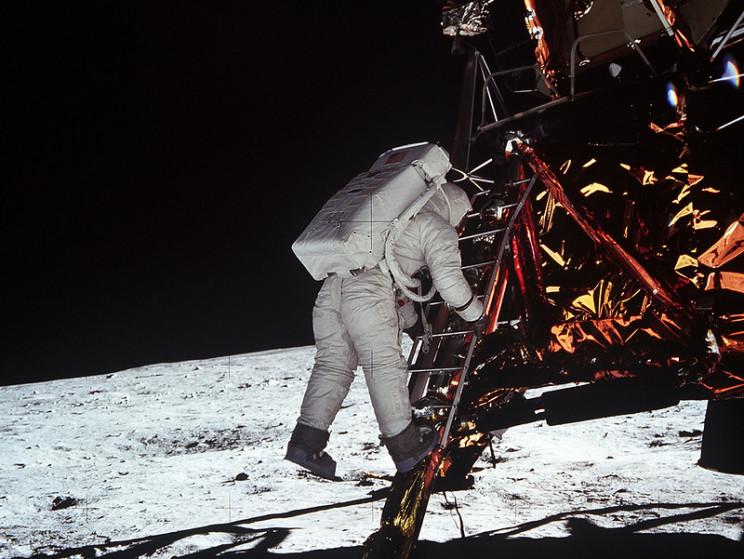 apollo 11 first words on moon