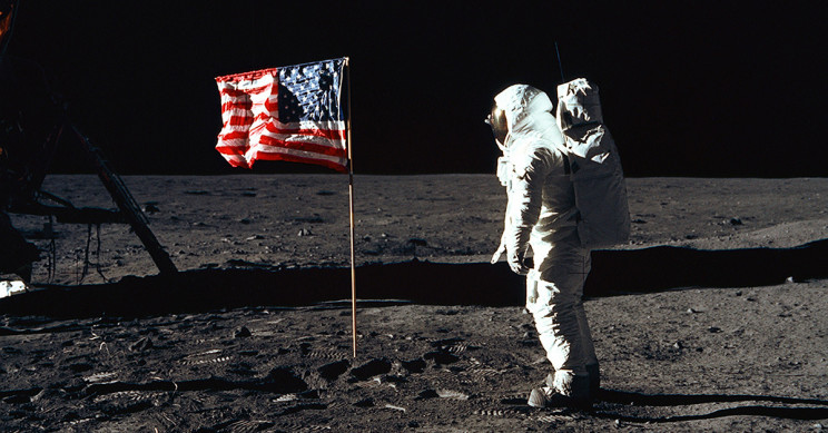 Apollo 11 Planting the Flag