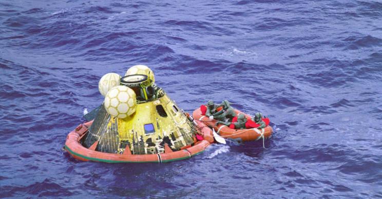 Apollo 11 Splash Down