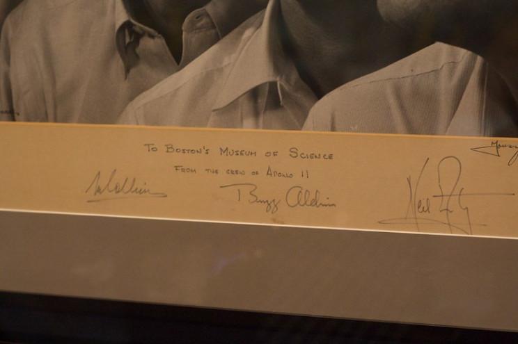 apollo 11 signed photos