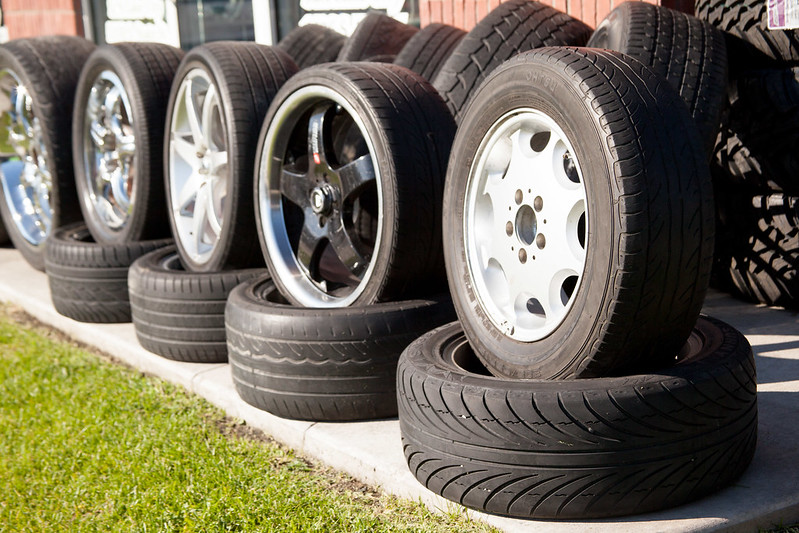 industrial processes car tires