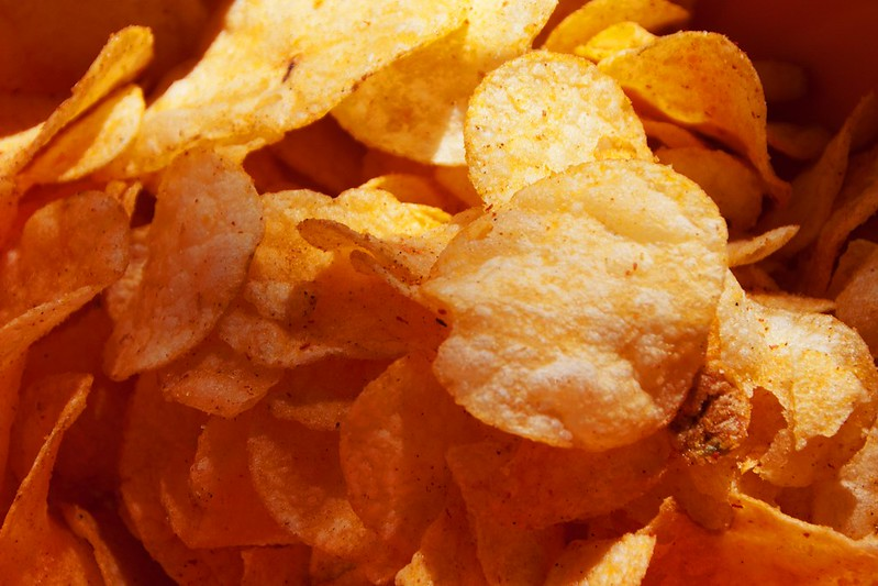 industrial processes potato chips