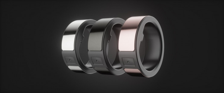 circular smart rings options