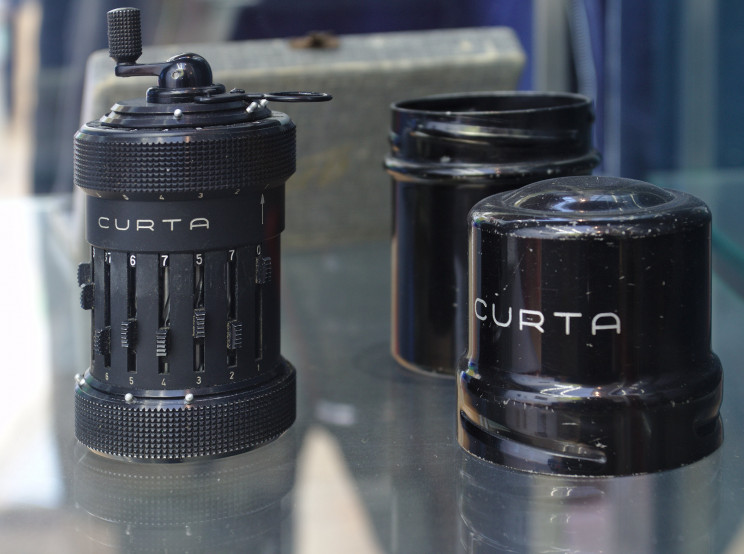 The Incredible Story of the Masterfully Engineered Curta Calculator, First-Ever to Fit in Your Pocket