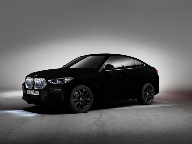 BMW to Show Off the X6 SUV in Vantablack