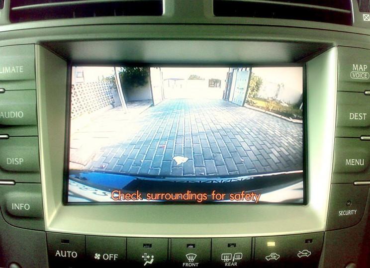 automobile innovations rear camera