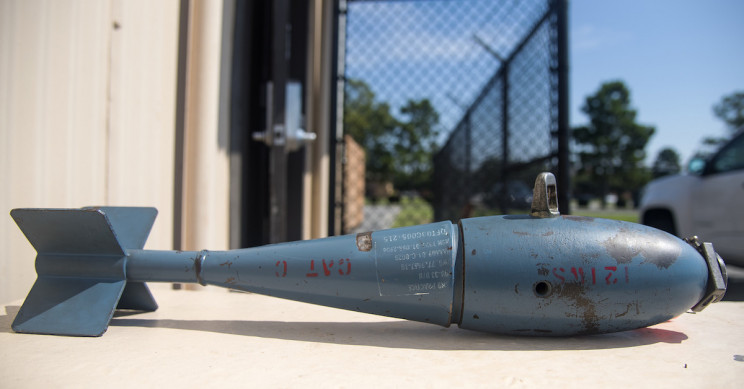 U.S. Air Force Mistakenly Drops Fake Bombs, Still Warns Public Not to Go Near