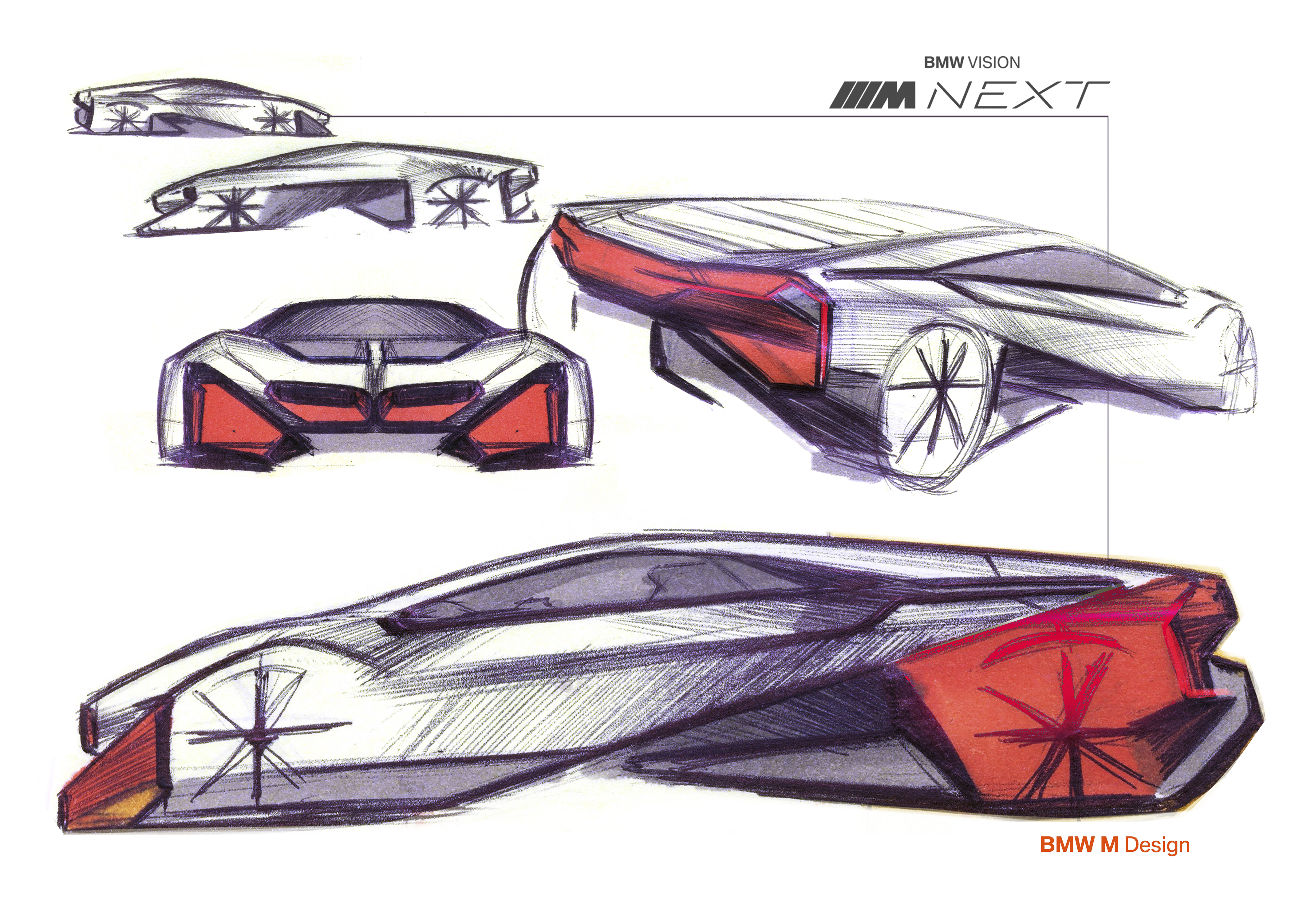 Bmw S New Concept Car Vision M Next Doesn T Forget The Thrill Seekers