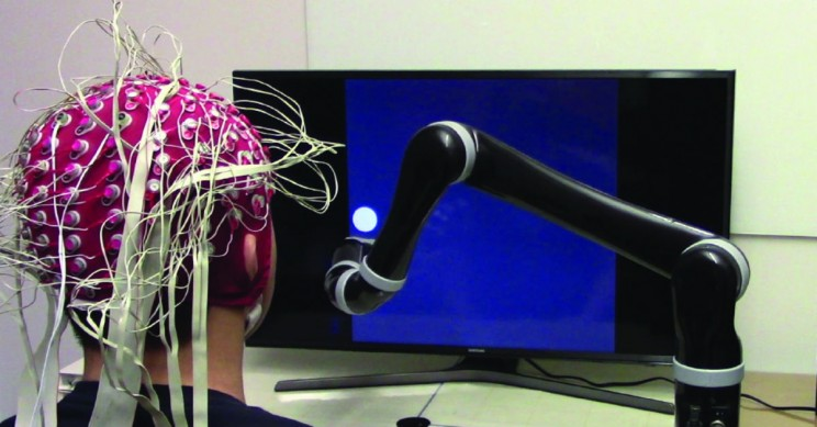 Breakthrough Sees First Mind-Controlled Robotic Arm with Noninvasive Implant