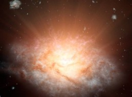 Bright, Ancient Galaxies Shed Light on Early Universe