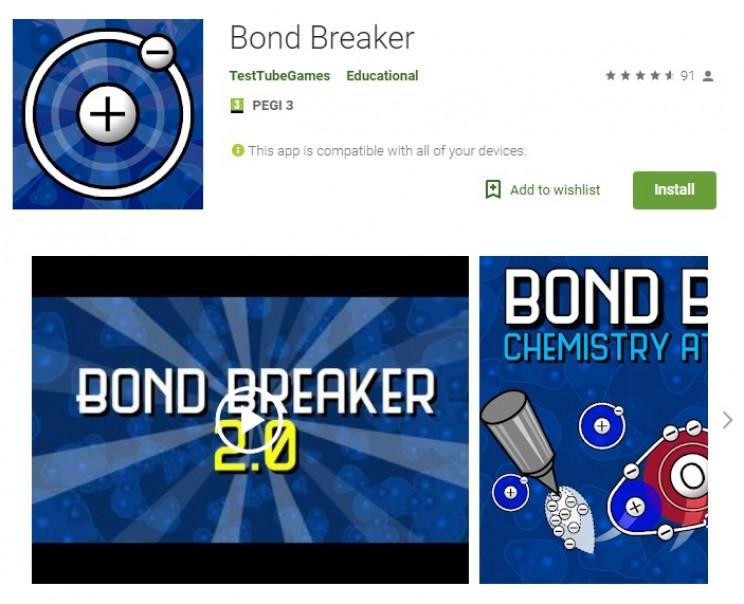 chemistry games bond breaker
