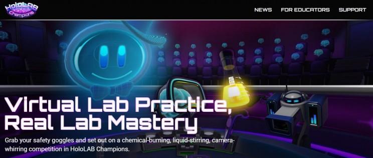 chemistry games hololab
