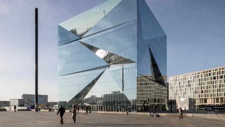 eco-friendly buildings cube