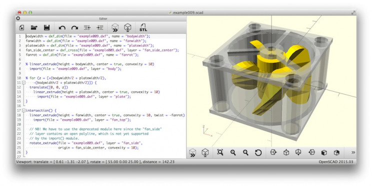 alternatives to solidworks openscad