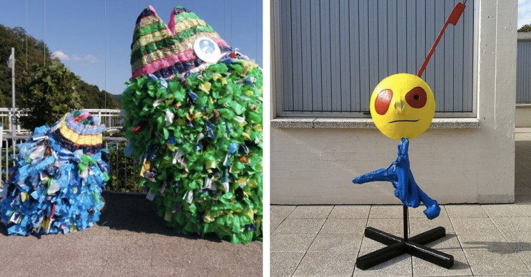 15 Incredible Artworks Made From Trash