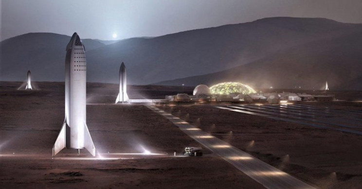 Possible Landing Sites for SpaceX's Mars Mission Have Been Revealed