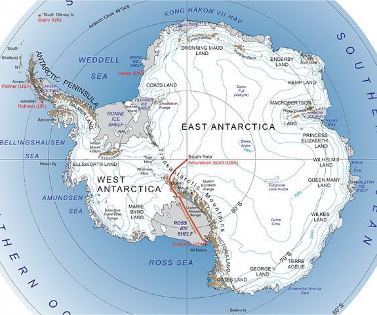 Radioactive Chlorine Found in Antarctica, Dates Back to the Nuclear Bomb Tests