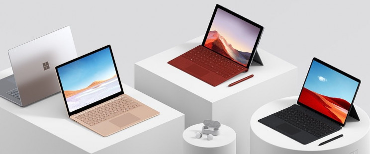 Microsoft Rolls Out a New Lineup of Surface Devices Just in Time for the Holidays