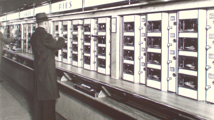 The First Fast Food Restaurants Were Automats