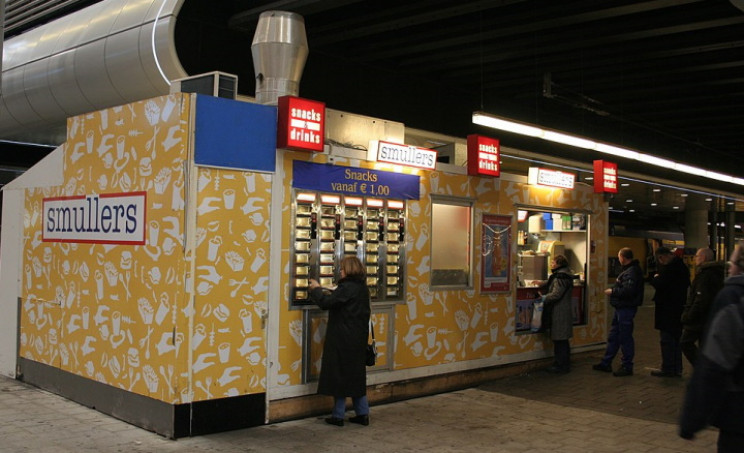 Smullers automat