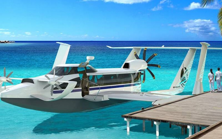 This Ship Can Fly at Speeds of 125 MPH and Carry 12 Passengers