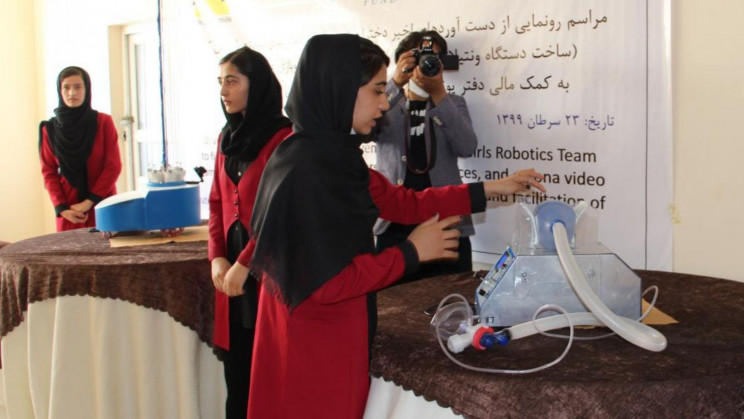 Afghanistan's All-Girls Robotics Team is Desperately Fighting to Escape the Country