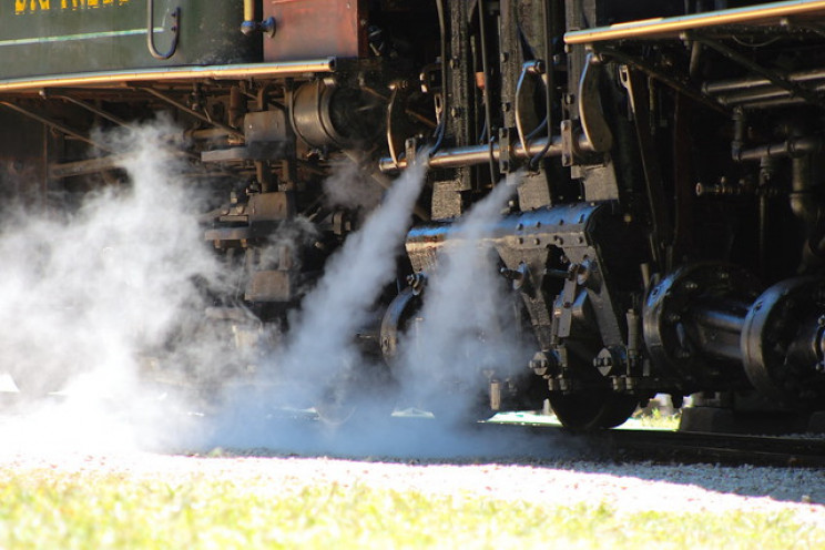 superheated steam locomotive