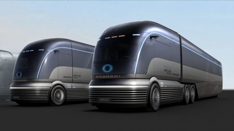 Hyundai's Hydrogen Semi-Truck Concept Could Give Tesla a Run for Its Money