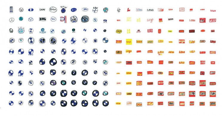 When 100 People Drew Famous Brand Logos, Very Few Managed to Do Well